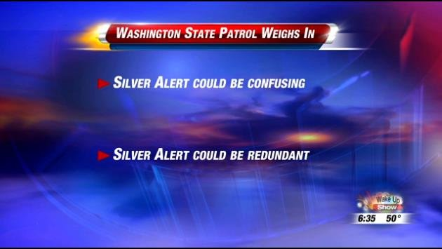 Right now, lawmakers are considering implementing the Silver Alert system in Washington state.