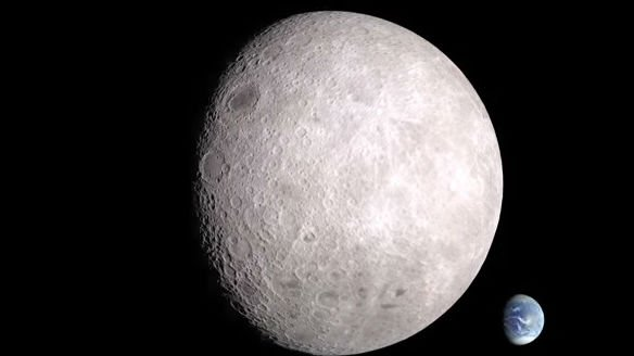 Video Nasa Shows Us The Other Side Of The Moon Spokane