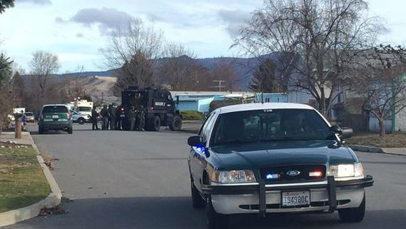 SWAT on scene at 5th Ave. and Coach Ct.