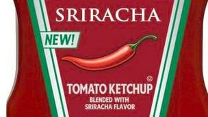 Sriracha flavored ketchup is headed a store near you.