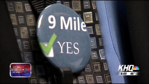 Nine Mile Falls not giving up after bond fails