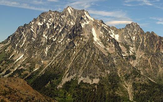 Mount Stuart by Walter Siegmund