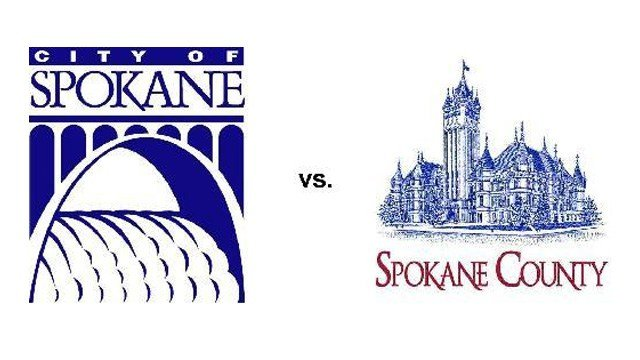 City of Spokane prepares to battle Spokane County in court