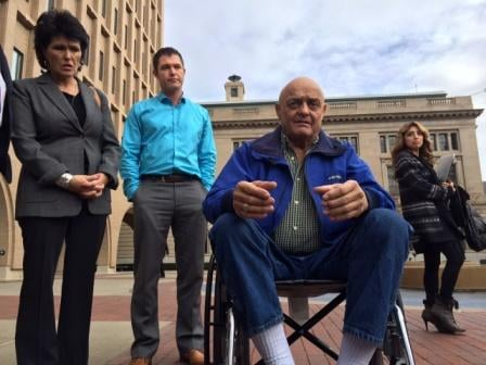 Three members of the 'Kettle Falls Five'