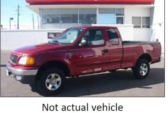 Though not a picture of his actual truck, Renton Police say Johnson could be in a pickup that looks very similar