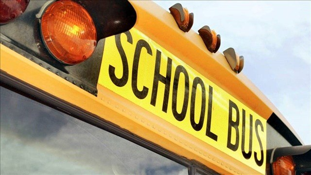 Coeur d'Alene police are investigating a report of damage to a school bus window.