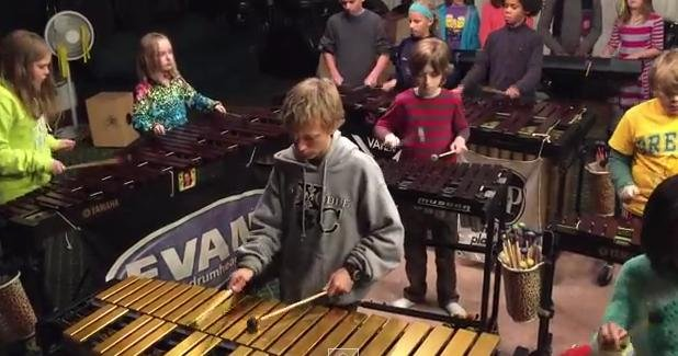 The Louisville Leopard Percussionists rock Zeppelin like you've never heard before (Youtube/Louisville Leopard Percussionists)