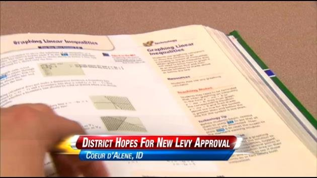 Administrators in the Coeur d'Alene school district are hopeful the taxpayers will approve a levy on March 10th.