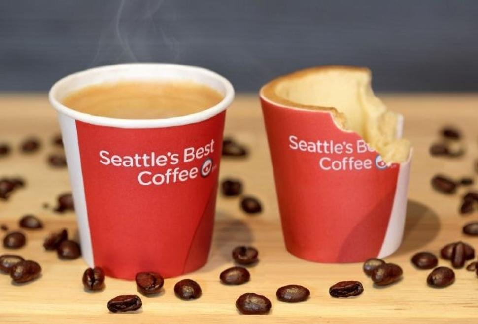 Edible cups could be coming soon to KFC in the UK. Photo: KFC