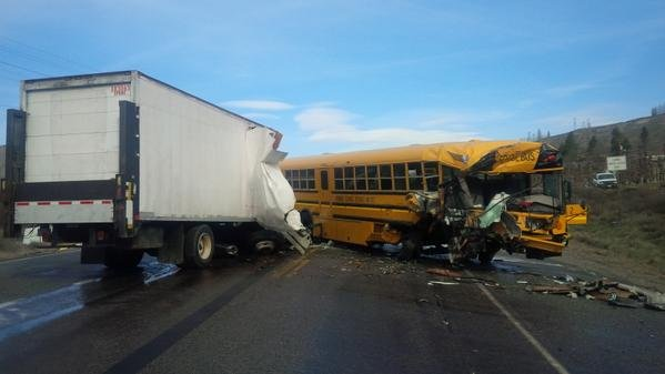 One person was killed, and eight others injured in this crash on Highway 97 near Orondo
