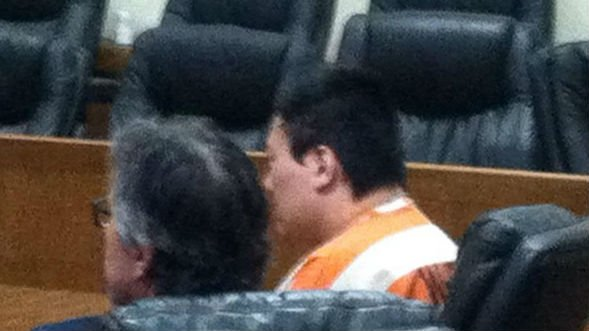 Moscow shooting suspect John Lee at his extradition review hearing Friday morning.