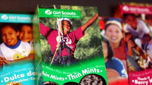 One Girl Scout troop is offering cookies by drive-thru. Photo: Marit & Toomas Hinnosaar / Flickr  / MGN