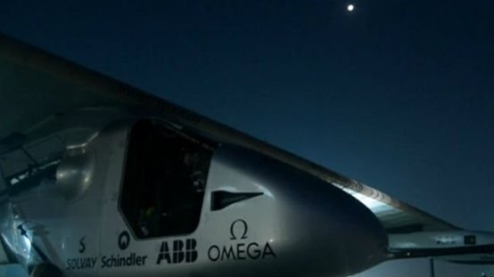 The Si2 aircraft that will be used in this journey is a single-seater made of carbon fiber. Photo: NBC