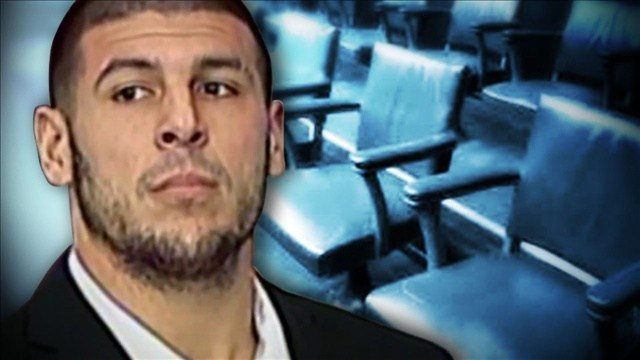 Hernandez is accused of the June 17, 2013, killing of Odin Lloyd, who was dating the sister of Hernandez's fiancee. Photo: CNN / MGN