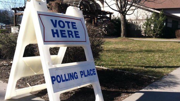 Foot traffic was light in a number Post Falls polling stations this morning.