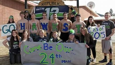 The Republic High School Class of 2015 rallying to get Russell Wilson, Richard Sherman, or any other Seahawk to come speak at their graduation