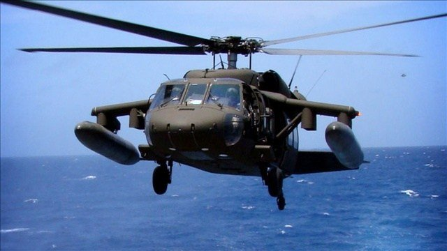 Military officials say they have found the main site where a helicopter crashed during a training mission off the Florida coast, killing seven Marines and four soldiers. (Photo: U.S. Navy / MGN )