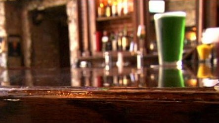 O'Doherty's bar will go through 35 kegs of green beer on parade day.