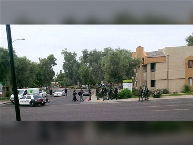 The rampage included a shooting at a motel, a carjacking and a home invasion at a nearby apartment complex. Photo: Pacbrim / MGN
