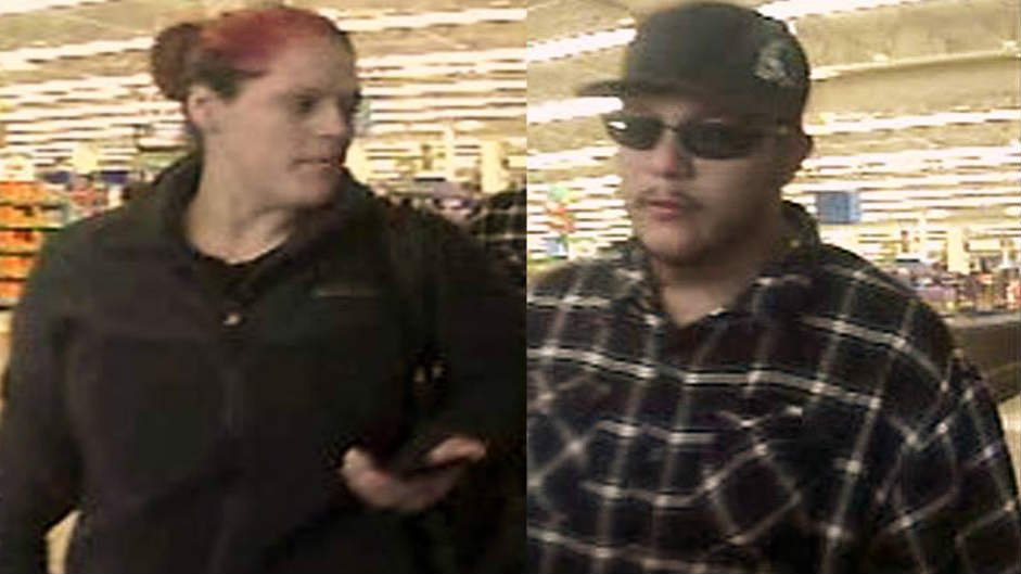 Spokane Valley Sheriff's Investigative Unit (SVIU) Detectives hope you can help identify the male and female in these photos.
