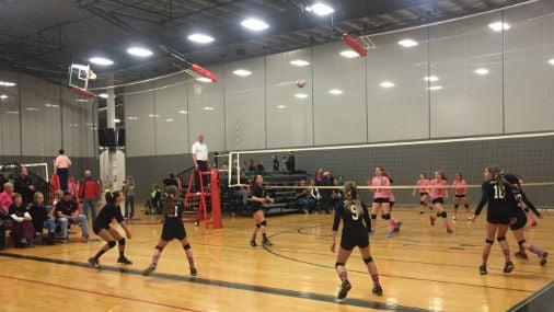 It's the first weekend of the Pacific Northwest Qualifier, one of the biggest volleyball tournaments in the country.