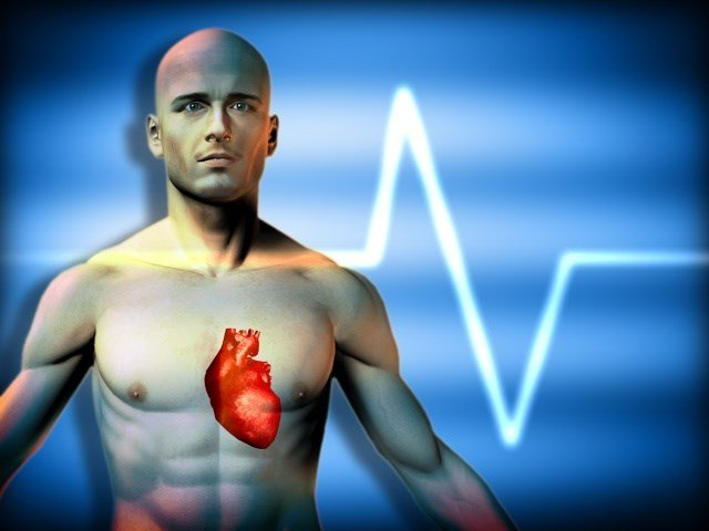 Man robbed while suffering heart attack