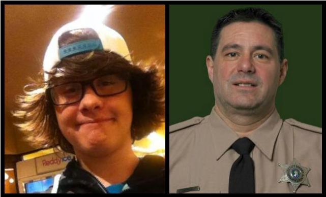 Left: Ryan Holyk, Right:Deputy Joseph Bodman