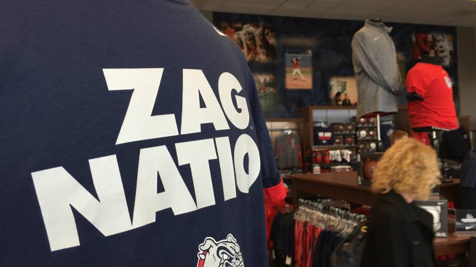Gonzaga gear is already selling out