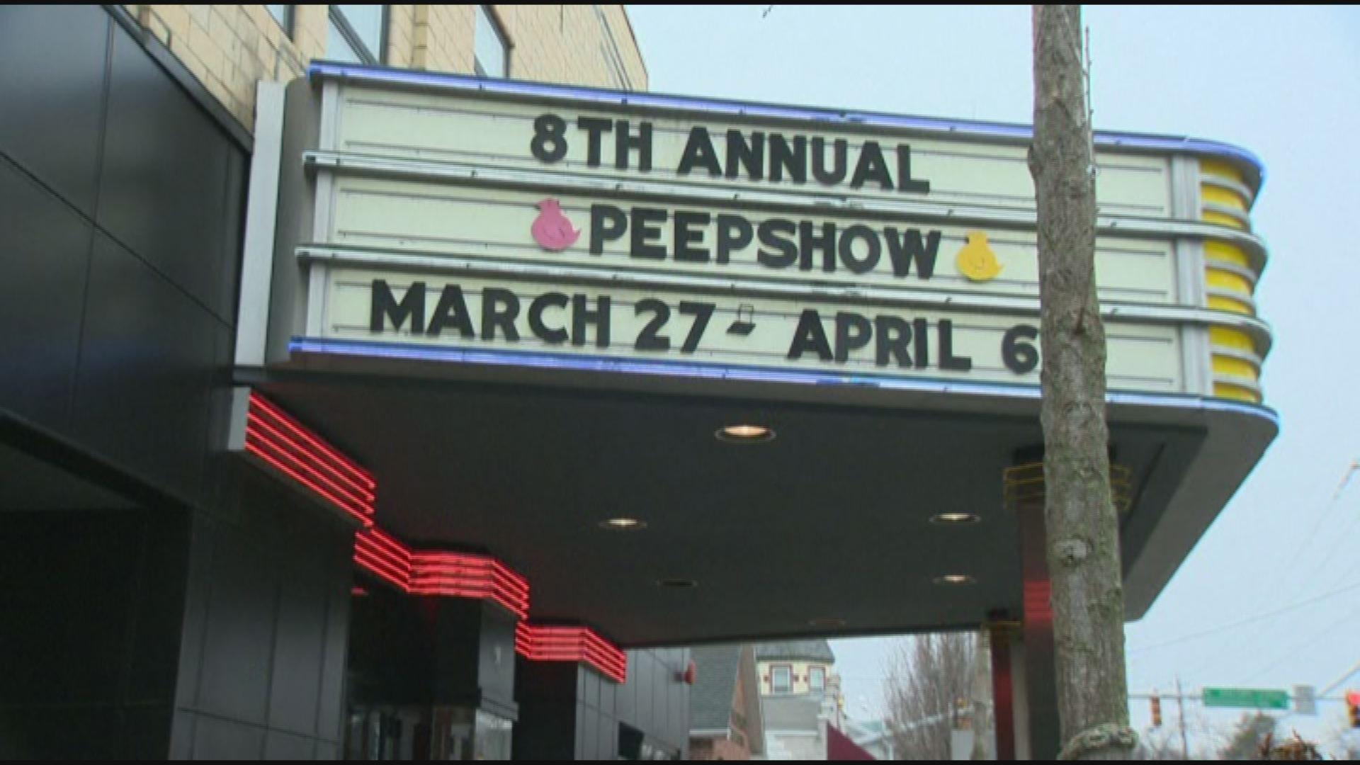 It's that time of the year for the Peep Show!