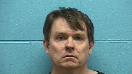 Kenneth Rasmuson's booking photo after his arrest on Friday (PHOTO: Lt. Eddie Vazquez via Bonner County Jail)
