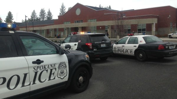 Jefferson Elementary in lockdown Tuesday afternoon. Spokane Police investigate.