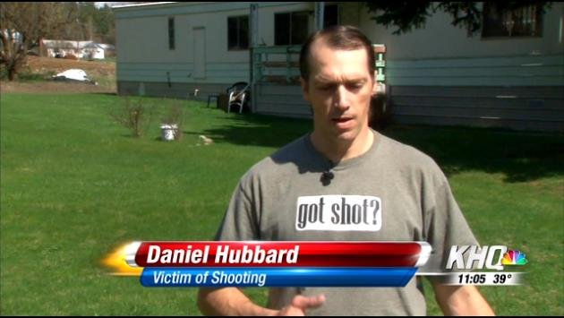 Shooting victim speaks out
