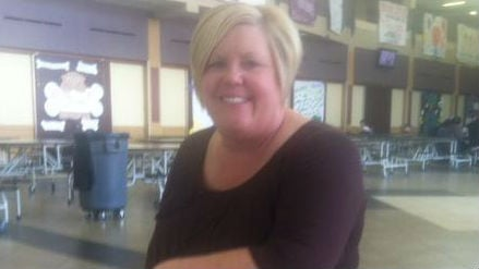 Lori Wyborney says the knowledge that she was Washington's principal of the year came as a shock.