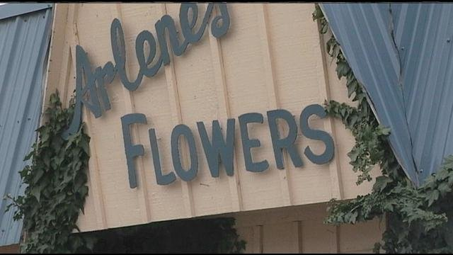 Stutzman, owner of Arlene's Flowers and Gifts in Richland, Washington, received the fine in Benton County Superior Court in March after refusing to serve a same-sex couple in 2013.