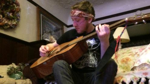 Spokane musician Jesse Cunnington battles Cystic Fibrosis.