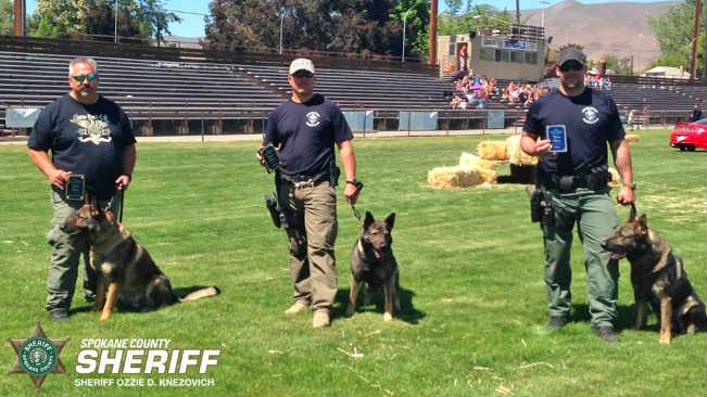 Spokane County Sheriff\'s Office K9 Units Receive Awards - Spokane ...