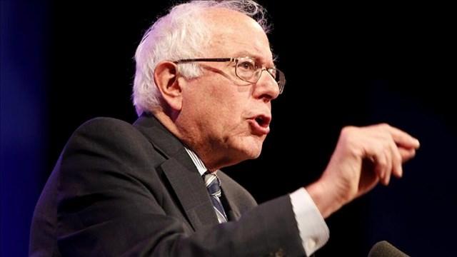 Democratic presidential candidate Bernie Sanders visits Spokane