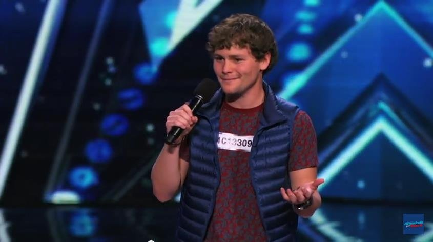 Drew Lynch: Stuttering Comedian Wins Crowd Over - America's Got Talent 2015