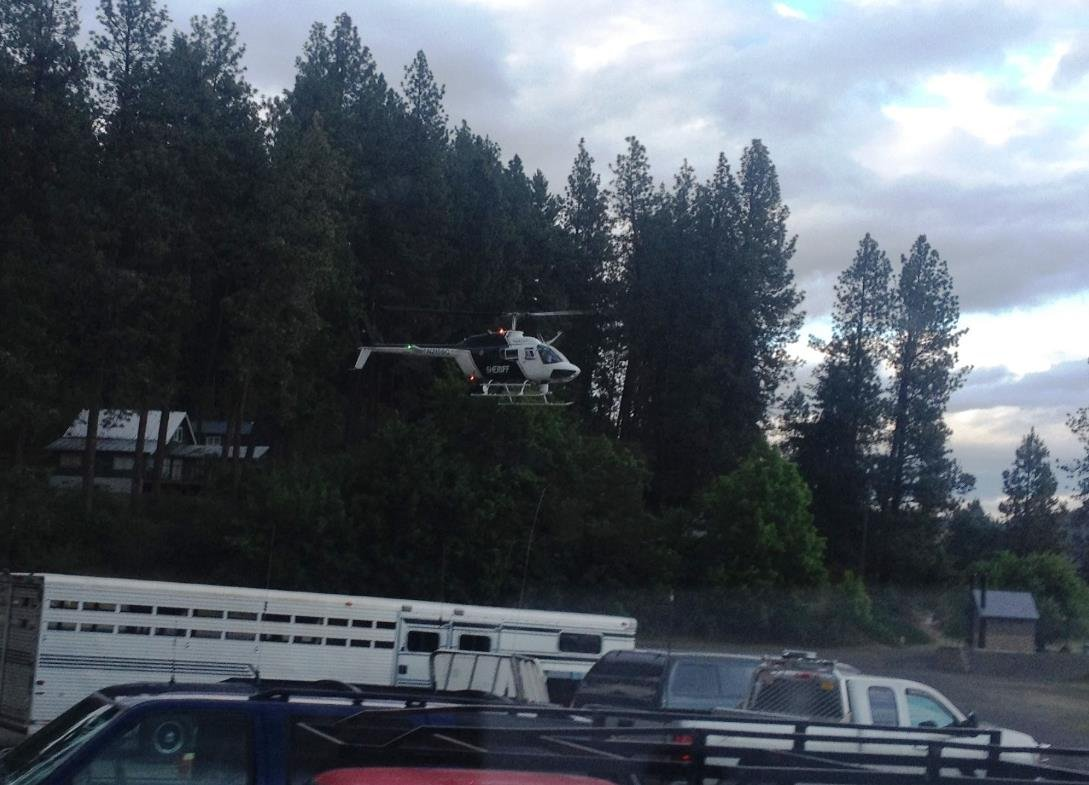 Sheriff's helicopter searching for Jacquelyn Grinder