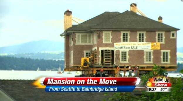 Family floats dream home on barge to Bainbridge Island