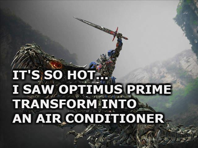 Its so hot outside jokes
