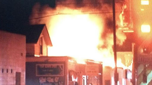 Court documents say John Hauflin admitted the setting this fire on North Monroe early Thursday morning.