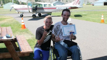 Aaron Bickle, from Moses Lake, surprised his younger brother Austin with a birthday gift he won't ever forget - he took him skydiving with Skydive Chelan.