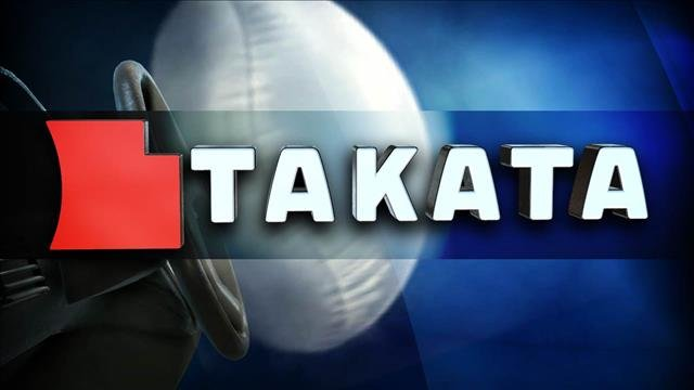 Honda Motor Co. says a defective air bag made by Takata Corp. was responsible for the death of a driver near Pittsburgh.