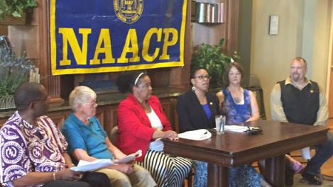 The Spokane Chapter of the NAACP held a last minute news conference Friday afternoon to talk about Rachel Dolezal leaving as president, and to talk about what's next for their chapter.