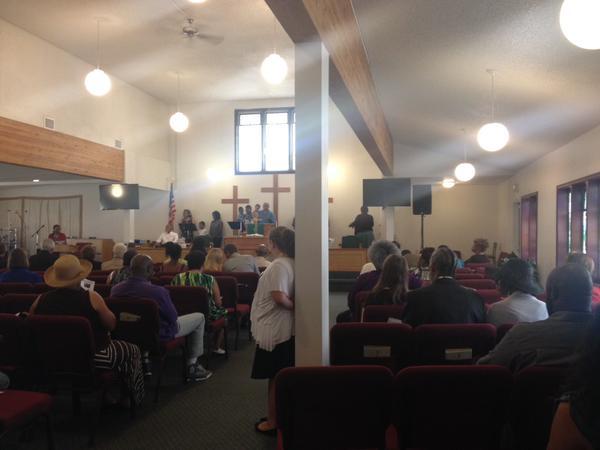Bethel AME church in Spokane.
