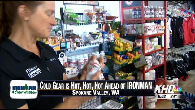 Cold gear is hot for Ironman!