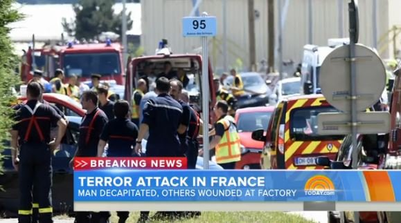 Attack on American gas factory in France
