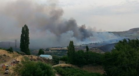 Dozens of homes have been burned due to wildfires burning near Wenatchee