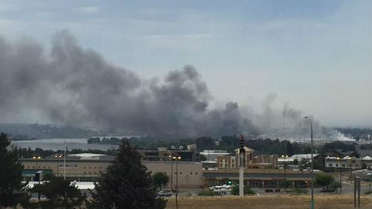 Several fires are burning the Wenatchee area